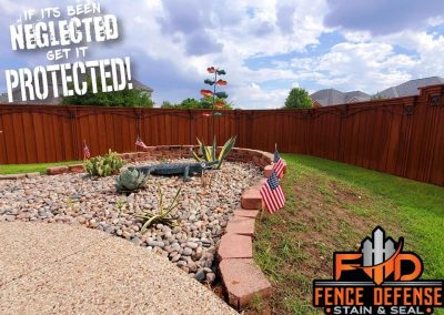 Allen Fence Staining