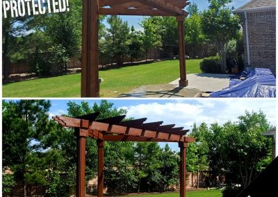 Arbor Staining Before and After