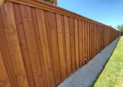 Best Fence Staining Company Fence Defense