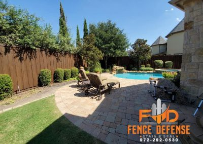 Best Fence Staining Company Plano