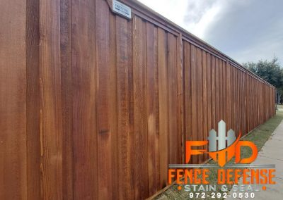 How To Stain A Fence To Make iT