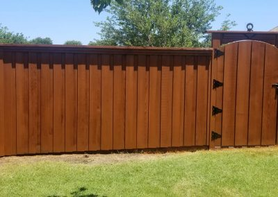 Cedar Fence Sealer and Staining
