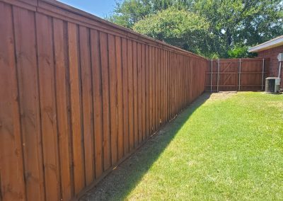 Cedar Fence Stain and Sealer