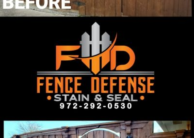 Fence and Gate Stain and Seal