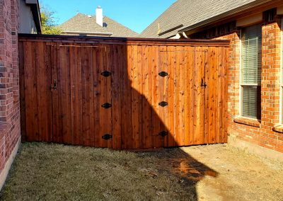 Fence and Gate Staining