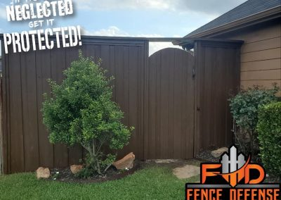 Fence And Gate Staining And Repair