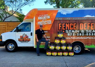 Fence Defense Stain Protection For Your Fence