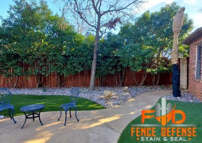 Fence Repair and Staining Service