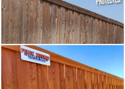 Fence Stain Transformation Before and After Pics