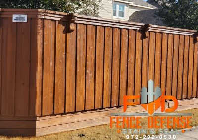 Fence Staining company in Dallas
