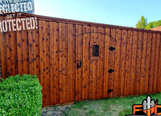 Fence Staining Contractor