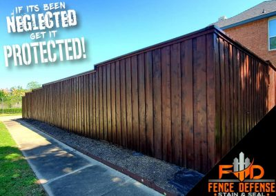 Fence Staining Contractor Dallas