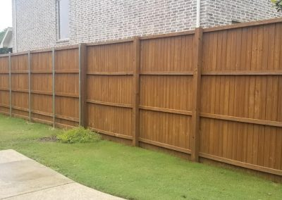 Fence Staining Dallas