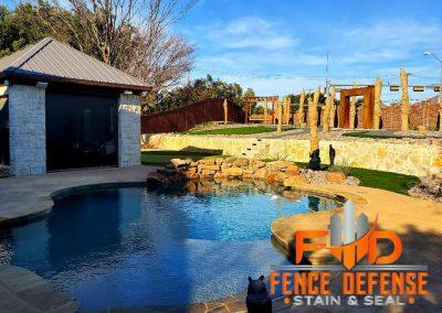 Fence Staining for HOA