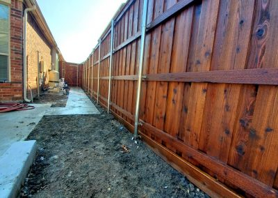 Fence Staining in McKinney