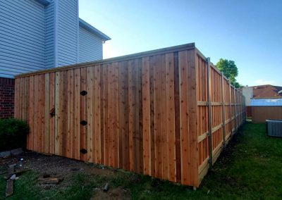 Fence staining company