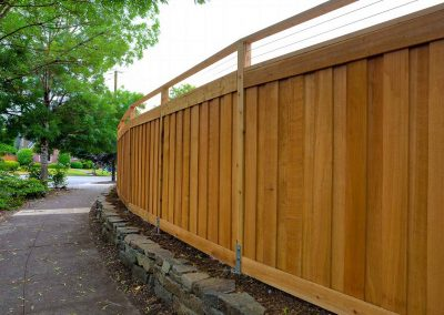 New Fence Sealing