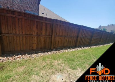 North Dallas Fence Staining Contractor