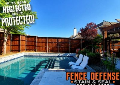 Perfect fence staining near me