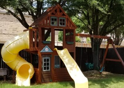 Playset Staining Service in Frisco, Texas