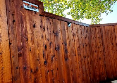 Pro Stained Fence