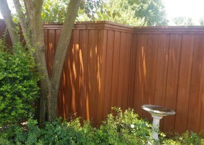 Professionally Seal Cedar Fence