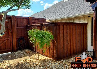 Restaining Fence Professionally