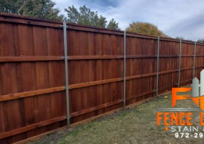 Seal your fence