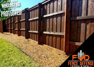 Stain a Cedar Fence in Carrollton