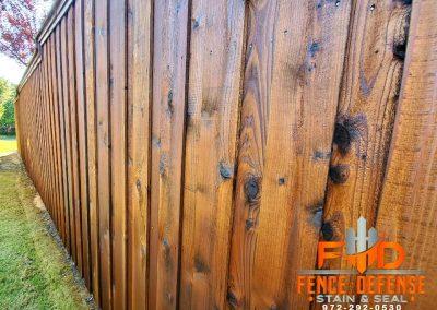 Stain For Cedar Fence in HOA