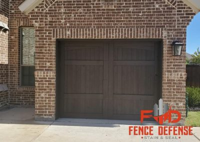 Stained Garage Door Service Plano, TX