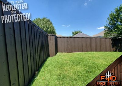 Wooden Fence Stain Protection