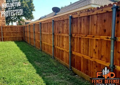 Fence Staining Cedar Tone Transparent
