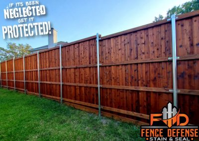 Beautiful Fence Staining Leatherwood Stain