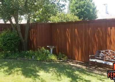 Beautiful Sable Brown Semi Transparent Fence Stain Frisco