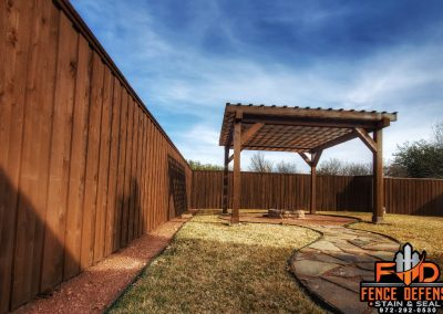 Fence and Arbor Staining Company in Frisco, TX