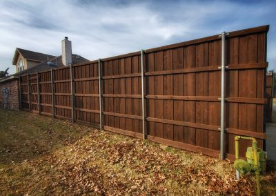 Fence Staining Company Coffee Brown Semi Transparent Stain