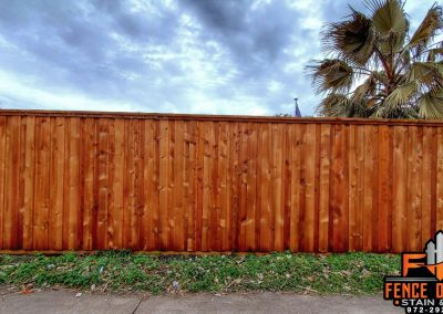 Fence Staining Company Leatherwood Transparent Stain