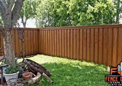 Sable Brown Semi-Transparent Fence Staining