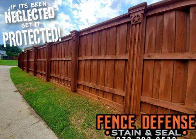 Fence Maintenance Sierra Semi-Transparent Stain