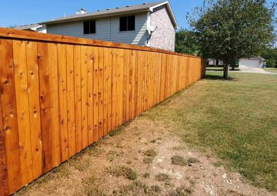 Frisco Texas Fence Staining Service