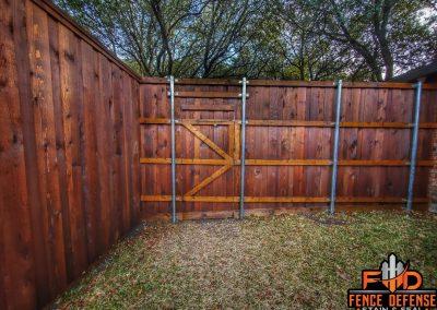 Leatherwood Transparent Fence Staining Frisco, Texas