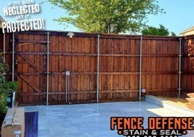 Plano Fence Staining Company