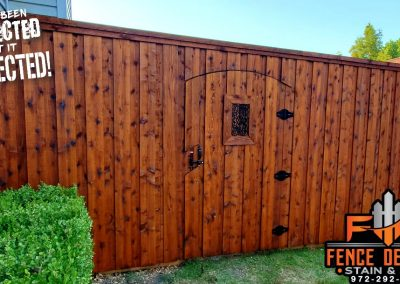 Fence and Gate Staining Frisco, TX