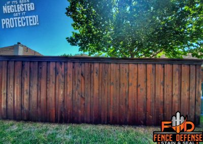Pro Fence Staining Plano Oxford Brown Transparent Stain