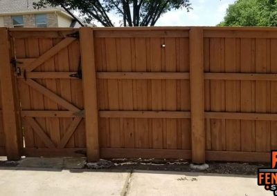 Professional Staining with Sable Brown Fence Stain