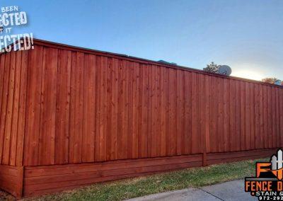 Frisco Texas Pro Fence Staining