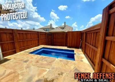 Sierra Semi-Transparent Stain for your fence