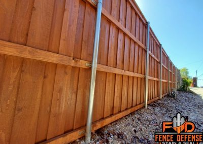 Fence Stain Sierra Frisco, Texas