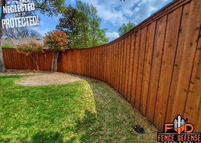 Leatherwood Stain Color For Fence Plano, TX